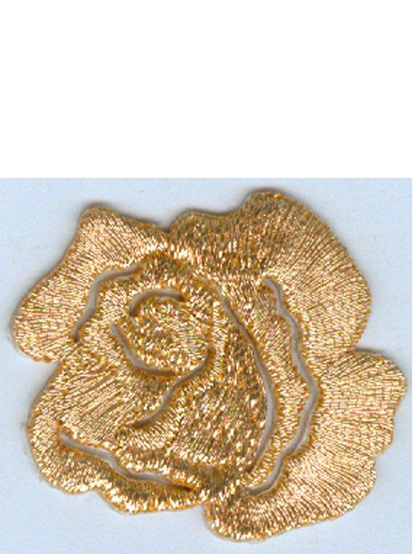 Laglapp guldros. Se fler tygmärken och laglappar hos Textil ... ce29b4d5dc6b7
