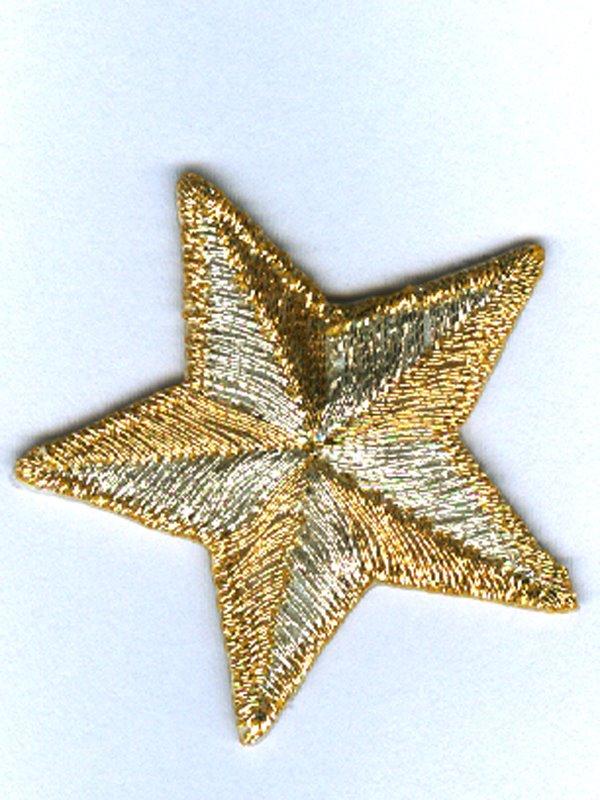 Tygmärke stjärna i guld och silver. Se fler laglappar och tygmärken ... cf7be0ce8e8d5