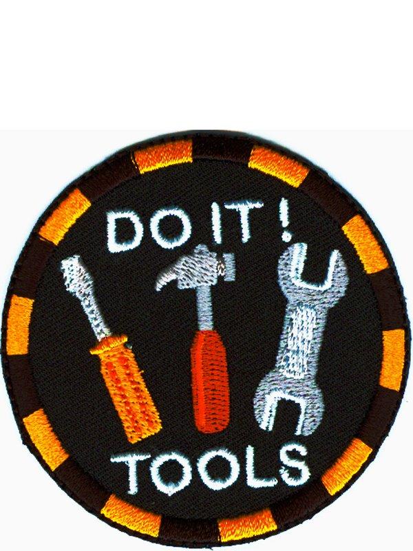 Tygmärke verktyg. Se fler laglappar och tygmärken hos Textil ... ebe9e88c9bf71