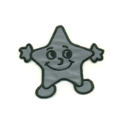 Reflexmärke Stjärna 8 cm x 7 cm. Se fler reflexmärken hos Textil ... eae34772a51f8