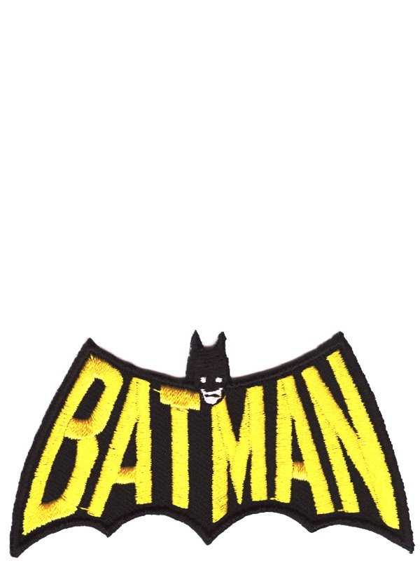 Laglapp med Batman   Läderlappen i siluett - Textil   Presentia 2445ff69a200d