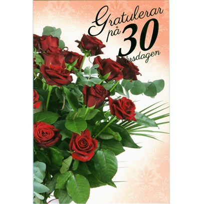 30 ÅRS PRESENT HENNE