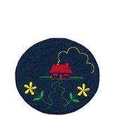 Laglappar Cerise skor. Laglappar   tygmärken från Textil   Presentia ... dcd3bce4210f5