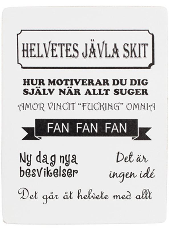 tavlor med text på svenska