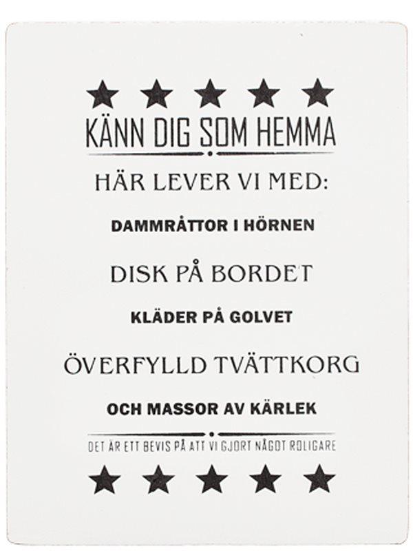 tavlor med svensk text