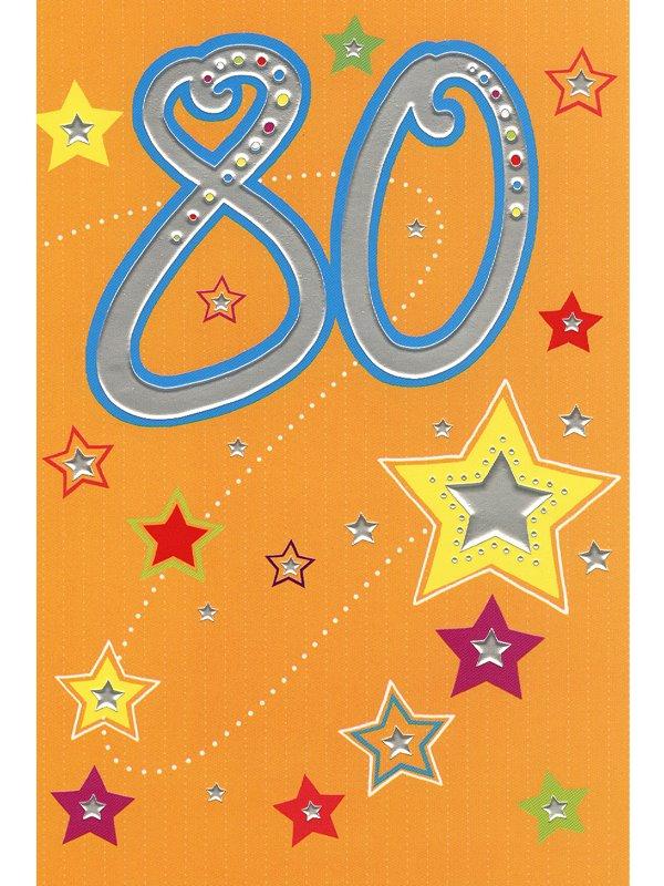 grattiskort 80 år Grattiskort 80 år. Se fler gratulationskort hos Textil & Presentia  grattiskort 80 år