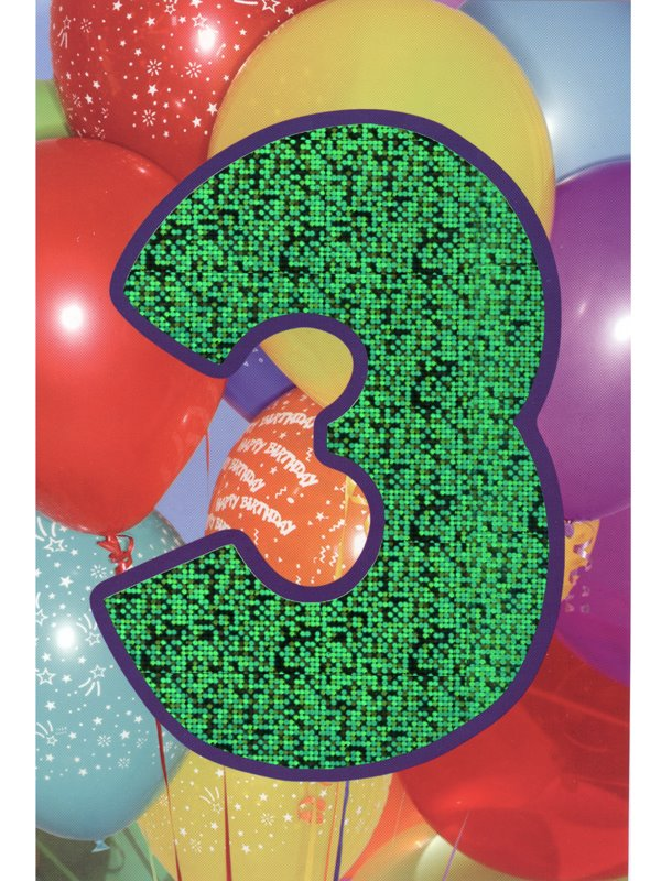 grattis på 3 årsdagen Gratulationskort 3 års dagen. Se fler grattiskort hos Textil  grattis på 3 årsdagen