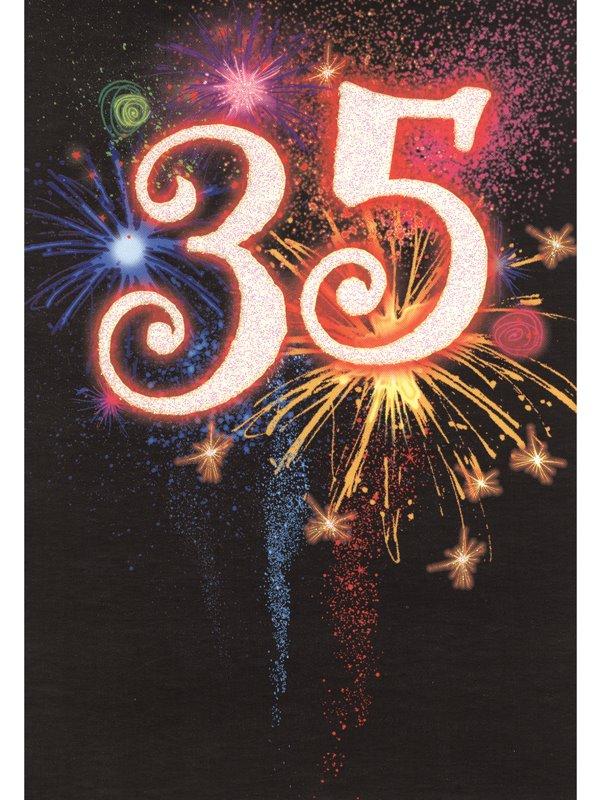 bröllop 35 år Grattiskort 35 år. Se fler grattiskort hos Textil & Presentia  bröllop 35 år