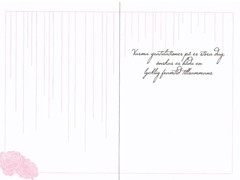 bröllop gratulationskort Grattiskort Bröllop mellan två kvinnor. Se fler gratulationskort  bröllop gratulationskort