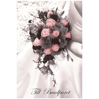 grattiskort till brudparet Grattiskort Till Brudparet Brudbukett. Se fler gratulationskort  grattiskort till brudparet