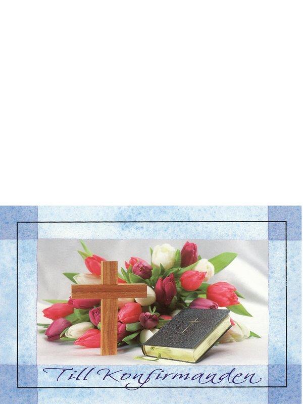 grattiskort konfirmation Konfirmationskort. Se fler grattiskort hos Textil & Presentia  grattiskort konfirmation