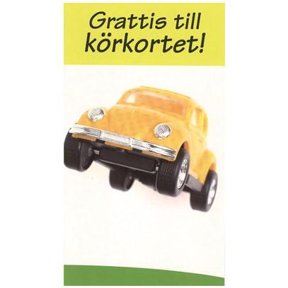 grattis på körkortet Grattis till körkortet WV   Textil & Presentia grattis på körkortet