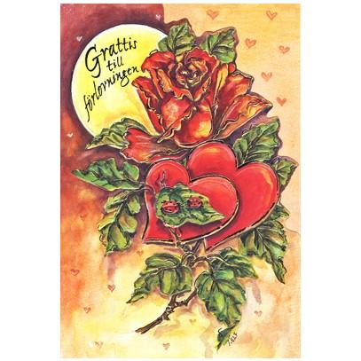 grattis på förlovningen Grattis till förlovningen. Se fler gratulationskort hos Textil  grattis på förlovningen