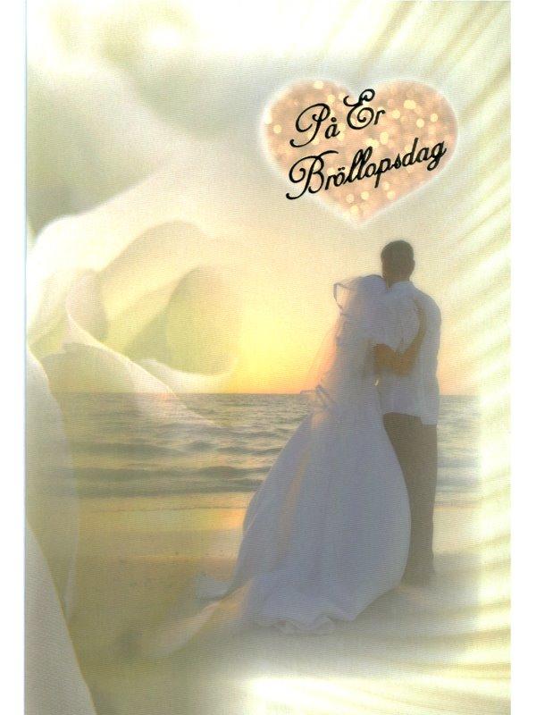 grattis på er bröllopsdag På er bröllopsdag. Se fler grattiskort till bröllop hos Textil  grattis på er bröllopsdag