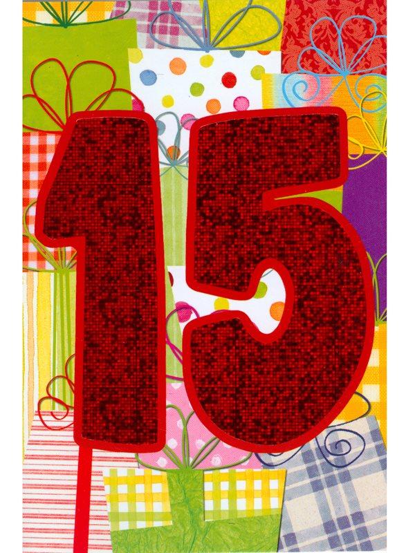 grattiskort 15 år Köpa gratulationskort 15 års dagen. Se fler Grattiskort hos Textil  grattiskort 15 år