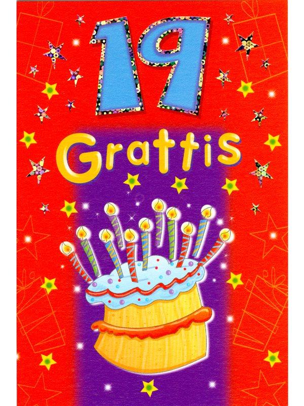 grattis 19 år Köpa grattiskort 19 år online. Grattiskort till den som fyller 19  grattis 19 år
