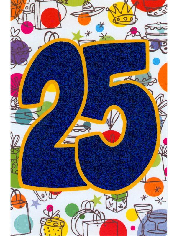 grattis 25 år Köpa grattiskort på nätet. Fylla 25 år köp grattiskortet hos  grattis 25 år