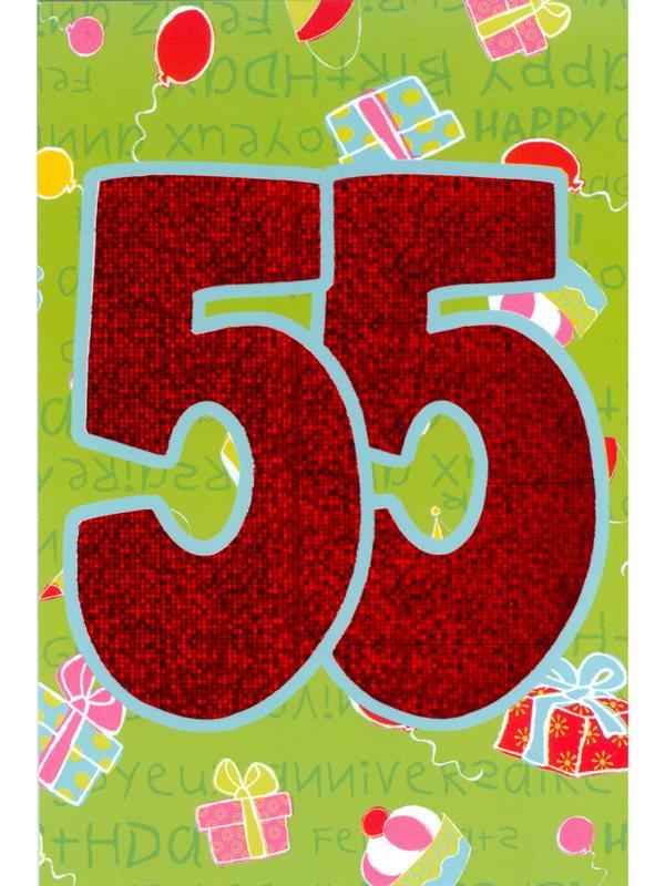 grattis på 55 årsdagen Här hittar du grattiskort 55 år på nätet. Se våra gratulationskort  grattis på 55 årsdagen