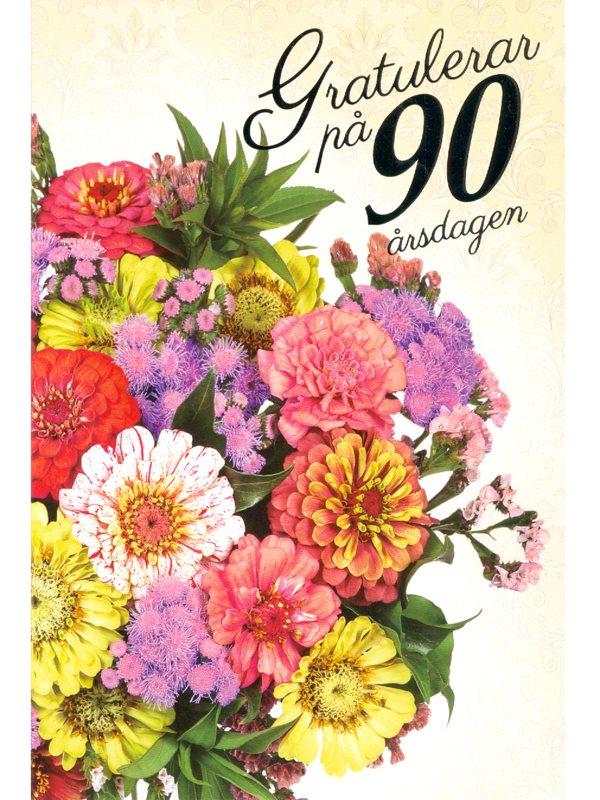 grattis på 90 årsdagen Köpa grattiskort på webben, grattis 50 år. Se Textil & Presentias  grattis på 90 årsdagen