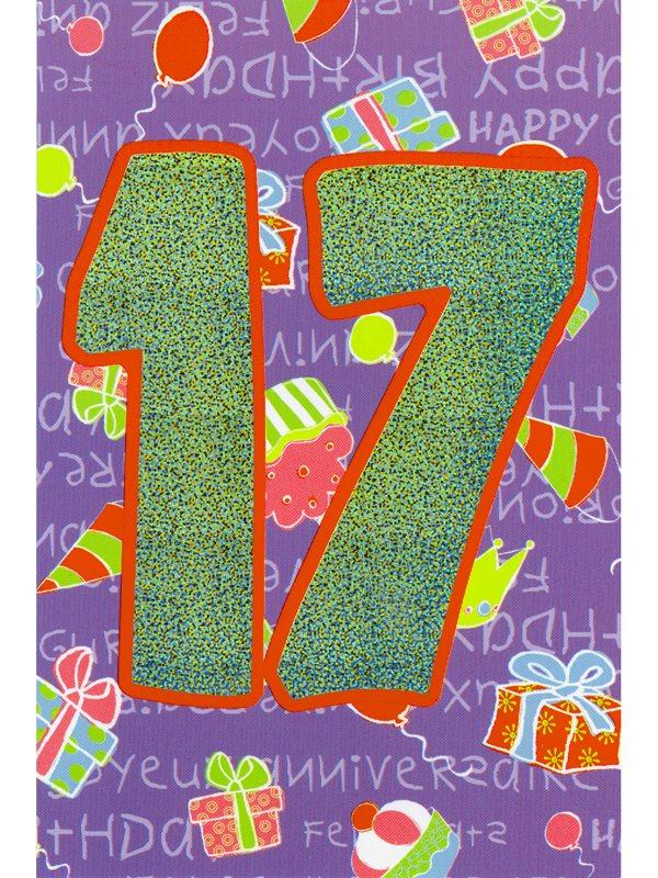 grattis 17 år Var hittar man grattiskort på nätet till 17 åringen? Textil  grattis 17 år