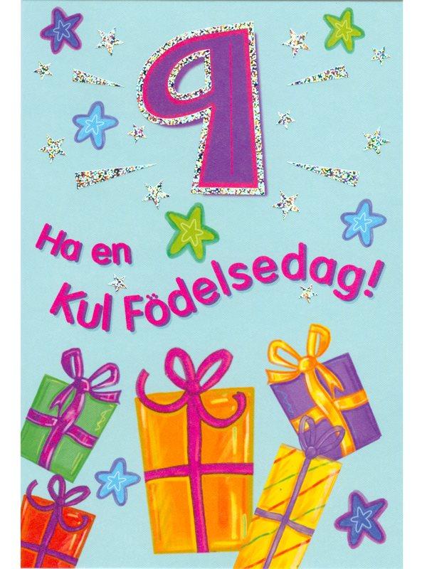 grattis på 9 årsdagen 9 år   Textil & Presentia grattis på 9 årsdagen