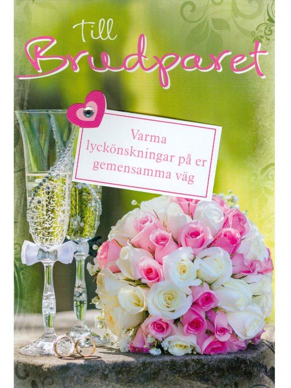 grattiskort till brudpar Gratulationskort till bröllop. Handgjort grattiskort till  grattiskort till brudpar