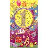 grattis på 1års dagen Gratulationskort 1 års dagen. Se fler grattiskort hos Textil  grattis på 1års dagen