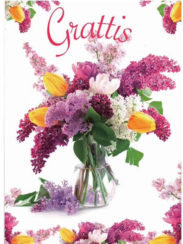 blommor grattis Blommor grattis   Textil & Presentia blommor grattis