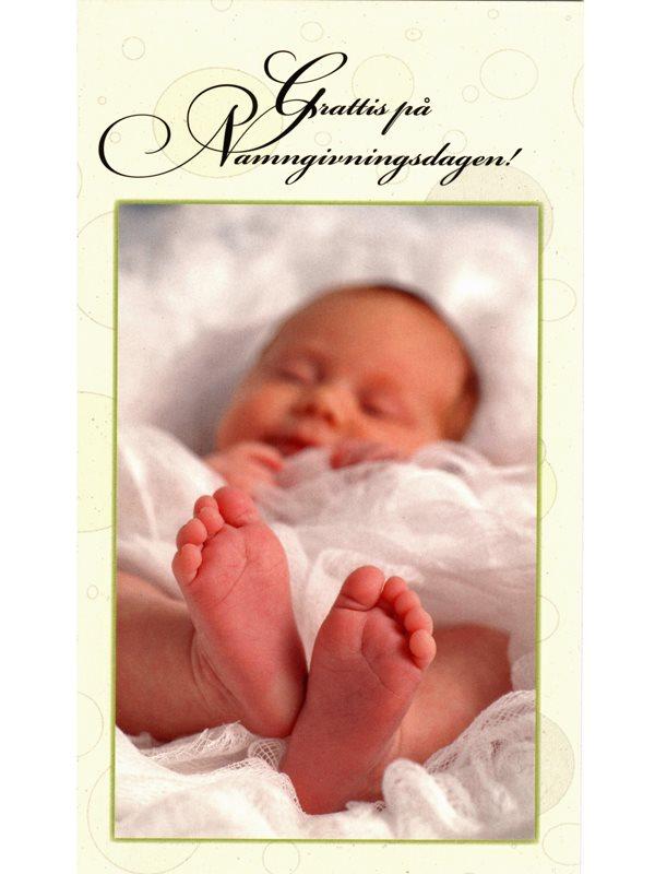 grattis på namngivningsdagen Alternativ till dop, namngivning. Grattiskort med grattis på  grattis på namngivningsdagen
