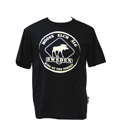 T-shirt Älg Swe King of forest XXL